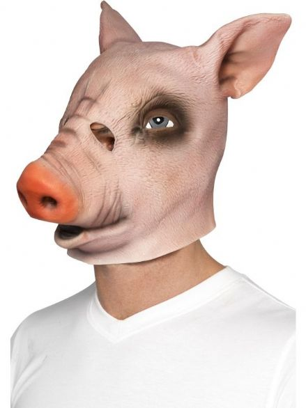 Pig Full Over Head Mask